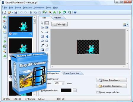 Скачать Easy GIF Animator v5.1.0.44 или Скачать Easy GIF Animator v5.1.0
